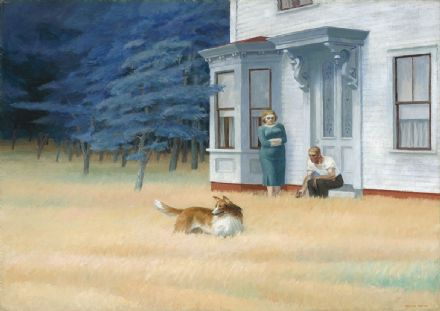 Hopper, Edward: Cape Cod Evening. Fine Art Print/Poster. Sizes: A4/A3/A2/A1 (004183)